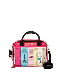 Betsey Johnson - Multicolor Library Lunch Tote - Lyst
