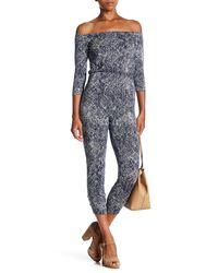 Rachel Pally - Blue Sabin Printed Jumpsuit - Lyst