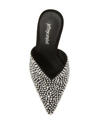 Jeffrey Campbell Black Jodeci Embellished Mule (women)