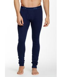 2xist - Blue Long John for Men - Lyst