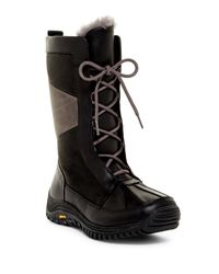 UGG | Black Ugg(r) Mixon Uggpure Lined Waterproof Snow Boot | Lyst