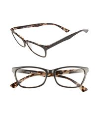 Corinne Mccormack - Gray Juliet Acetate Grey Reading Glasses - 2.00 - Lyst