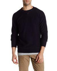 Billy Reid | Blue Fisher Crew Neck Sweater for Men | Lyst