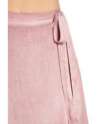 On The Road - Purple Tiffany Asymmetrical Wrap Skirt - Lyst