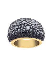 Swarovski - Black Mini Chic Ring - Size 52 (us 6) - Lyst
