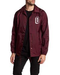 Obey | Multicolor Varsity Coach Jacket for Men | Lyst