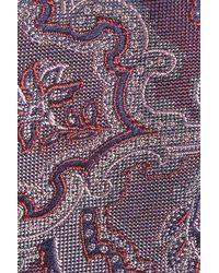Calibrate - Purple Ellerson Paisley Silk Tie for Men - Lyst