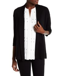 Chaus | Black Open Front Cardigan | Lyst