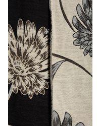 Ivanka Trump - Multicolor Metallic Floral Scarf - Lyst