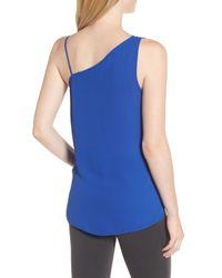 Trouvé - Blue Asymmetrical Sleeveless Top - Lyst