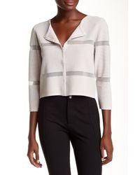 Yoana Baraschi - Gray Mirage Knitted Jacket - Lyst
