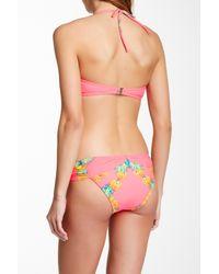 Mara Hoffman - Multicolor Printed V-wire Bandeau Bikini Top - Lyst