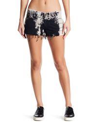Siwy - Black Camilla Raw Edge Shorts - Lyst