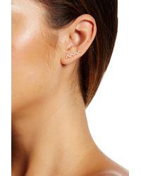 Gorjana - Metallic Cress Shimmer Ear Climbers - Lyst