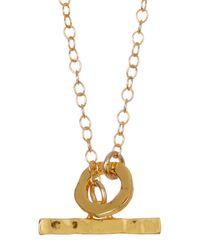 Gorjana - Metallic Taner Toggle Clasp Chain Necklace - Lyst