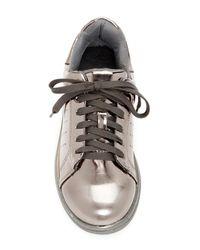 N.y.l.a. - Multicolor Metallic Lace-up Sneaker - Lyst