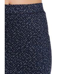 Trina Turk - Blue Ashby Skirt - Lyst