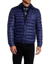 Slate & Stone - Blue Light Feather Down Jacket for Men - Lyst