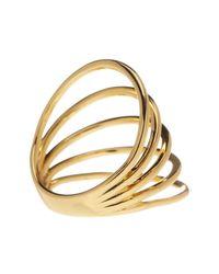 Gorjana - Metallic Carine Multi-bar Ring - Size 6 - Lyst