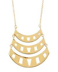 Gorjana | Metallic Behati Pendant Necklace | Lyst