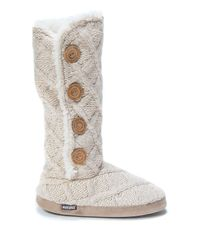 Muk Luks | Multicolor Malena Tall Faux Fur Lined Slipper | Lyst