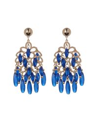 BaubleBar - Blue Chandelier Drop Earrings - Lyst