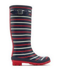Joules | Blue Wellyprint Tall Rain Boot | Lyst