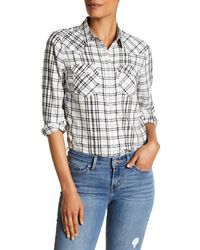Levi's | Multicolor Plaid Long Sleeve Tailored Fit Shirt | Lyst