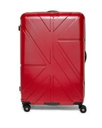 "Ben Sherman - Red Oxford 28"" Upright Suitcase for Men - Lyst"