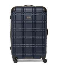 "Ben Sherman | Blue Nottingham 24"" 4-wheel Upright Suitcase for Men | Lyst"