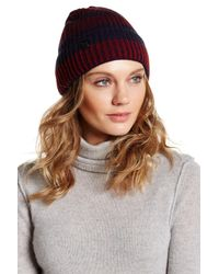 Vince Camuto | Blue Variegated Cuffed Beanie | Lyst