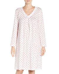 Carole Hochman | Multicolor Print Knit Sleepshirt | Lyst