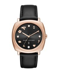 Marc Jacobs - Multicolor Women's Mandy Leather Watch, 34mm - Lyst