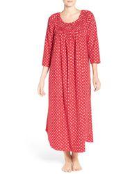 Carole Hochman | Red Flannel Nightgown | Lyst