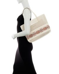 Steve Madden - Multicolor Hilda Perforated Tote - Lyst