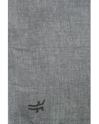 Frye - Blue Modal Solid Scarf - Lyst