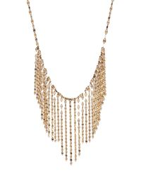 Lana Jewelry - Metallic 14k Gold Fringe Detail Necklace - Lyst
