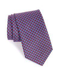John W. Nordstrom | Blue Geometric Silk Tie for Men | Lyst