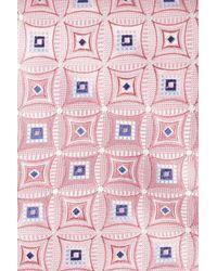 John W. Nordstrom | Pink Strode Medallion Woven Silk Tie for Men | Lyst