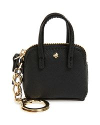 kate spade new york - Black 'things We Love - Maise' Bag Charm - Lyst