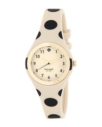 kate spade new york | Multicolor Women's Rumsey Polka Dot Strap Watch | Lyst
