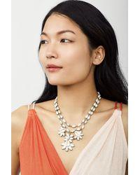 BaubleBar - Metallic Malana Shell Statement Necklace - Lyst