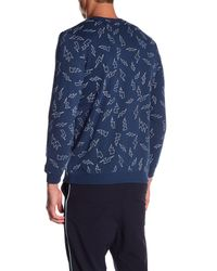 Sovereign Code Blue Military Sweatshirt for men