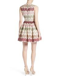 Alice + Olivia - Multicolor Joyce Lace Dress - Lyst