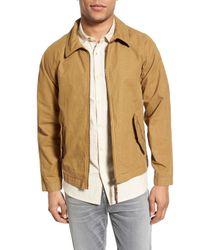 Billy Reid | Natural Wills Trim Fit Canvas Jacket for Men | Lyst