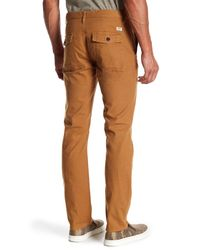 Timberland - Brown Squam Lake Straight Leg Pant for Men - Lyst