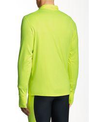 Brooks - Green Dash 1/2 Zip Jacket for Men - Lyst
