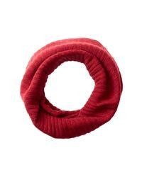 Portolano | Ashton Red Cashmere Snood for Men | Lyst