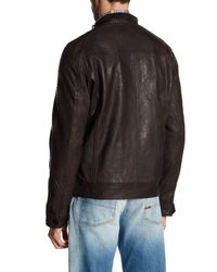 Gilded Age - Brown Milton Rider Leather Jacket for Men - Lyst