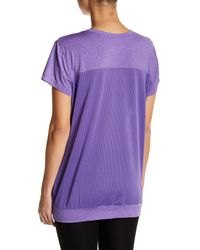 Brooks - Purple Short Sleeve Run-thru Tee - Lyst